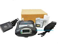 "Zebra RW 420 RW420 R4D-0UBA000N-00 Mobile 4"" Printer BLUETOOTH +CHARGER & PAPER"