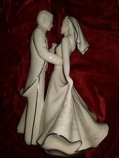 LENOX WEDDING PROMISES,  FIRST DANCE CAKE TOPPER w/box 1999