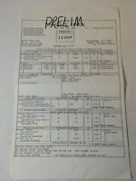 DAWSON'S CREEK set used CALL SHEET ~ Season 6, Episode 16