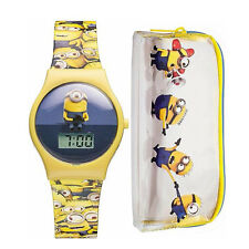 Minions Digi Watch and Purse Set - Officially Licensed Digital Case Gift