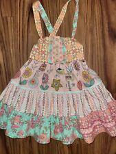 Matilda Jane Toddler Girl Dress Sz 2 Multicolored Floral Print Sleeveless