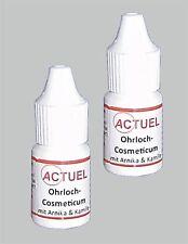 2 x Actuel Ohrloch Kosmetikum mit Arnika/Kamille (5 ml) zur Ohrlochpflege