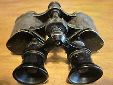Nice Hensoldt & Söhne Wetzlar 6x24 Binoculars Germany WWII World War 2 - RaRe!!