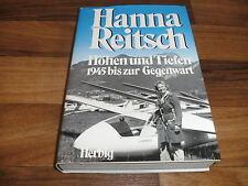 HANNA REITSCH -- HÖHEN + TIEFEN // Testpilotin-1. Flugkapitänin-Hallenflug 1978