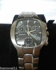 Reloj pulsera hombre LOTUS 9765 Quarz cronometro alarma Nuevo cal Miyota AS10
