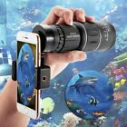 HD 16x52 Optical Zoom Clip-on Camera Lens Phone Telescope For Mobile Cell Phone