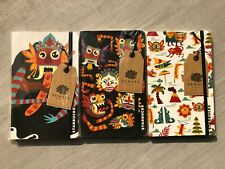 Starbucks Indonesia Set of 3 Bali Dewata Reserve Paper Back Limited Notebooks