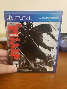 Godzilla (Sony PlayStation 4, 2015), PS4, Free Shipping with Tracking NTSC/US