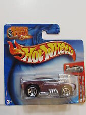 """HOT WHEELS 2004 FIRST EDITIONS  #71/100 """"TOONED"""" CAMARO Z28 1969 SHORT CARD"""