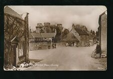 Somerset NUNNEY The Market Place Used 1929 RP PPC mailed from good pmk on PUC 1d