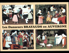 CHATEL-GUYON / BRAYAUDS (63) DANSE , MUSICIEN avec VIELLE , BRODEUSE , FILEUSE
