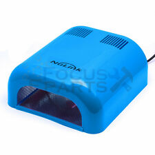 36W Manicure Nail Dryer Salon Gel Curing Polish UV Lamp Light Acrylic Blue