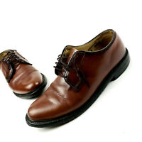 DEXTER Made in USA Men's VINTAGE Oxfords Brown Leather Dress Shoes  Size 10 E