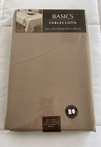 """Basics Tablecloth 60"""" X 102"""" in Oblong 