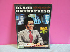 Black Entertainment September 1979 magazine images TV Jim Crow Tony Brown