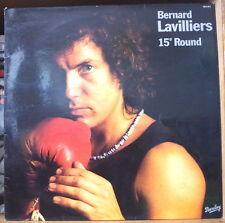 BERNARD LAVILLIERS 15ième  ROUND FRENCH LP BARCLAY 1977