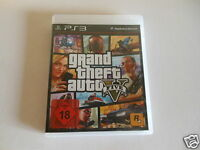 PS3 - Grand Theft Auto V - 5  ** Playstation 3 USK 18