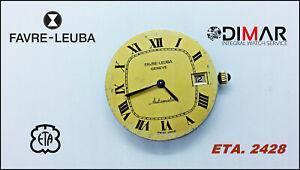 Movement Favre-Leuba, ETA.2824 - Diam.esfera. 29.60mm