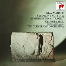 George Szell - Mahler: Symphonies Nos 4 & 6 [New CD] Japan - Import