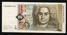 GERMANY 50 MARK P45 1996 NEUMAN EURO *REPLACEMENT* CURRENCY MONEY BILL BANK NOTE