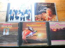 James Last [5 CD Alben] Classics Up to Date 4 + Biscaya + Vivaldi +Paradiesvogel
