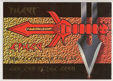Star Trek TNG Next Generation Season 1 Embossed Chase Card SP2 Blade of Warrior