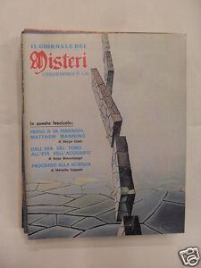 IL GIORNALE DEI MISTERI PROCESSO ALLA SCIENZA AGOSTO 1978