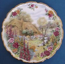 Royal Albert Tranquil Garden Piatto FRED errill Country Roses BONE CHINA