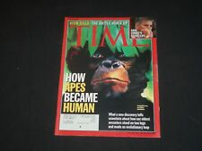2001 JULY 23 TIME MAGAZINE - HOW APES BECAME HUMAN - T 3103