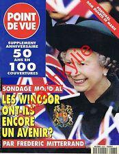 Point de vue n°2433 du 21/03/1995 Windsor Hôtel de Clermont-Tonnerre Ségoura
