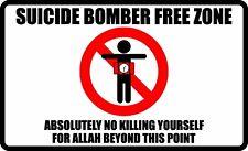 ANTI TERRORISM ISIS TRUMP SUPPORT DECAL BUMPER STICKER POLITICAL