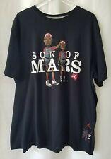 Air Jordan Men's 3XL XXXL Son of Mars Graphic T Shirt Black Spike Lee Brooklyn