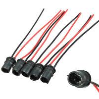10pcs/Set T10 Car Auto LED Light Bulb Socket Connector Extension Base Holder