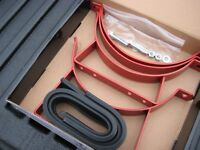NEW HBR/NOS/EDELBROCK/ 10/15LB STEEL HINGED NITROUS BOTTLE BRACKETS NX/ZEX