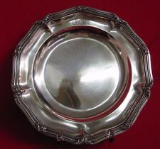 570 g sehr Große Schale Tablett Silber M. Elimeyer 800  Teller Korbrand Dresden