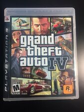 Grand Theft Auto IV (Sony PlayStation 3, 2008) SHIPS FAST!!