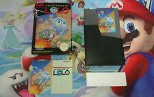 Juego Completo Nintendo Nes Adventures of Lolo Versión Pal B España Original CIB