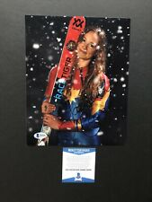 Laurenne Ross autographed signed 8x10 photo Beckett BAS COA USA Hot Olympics Ski