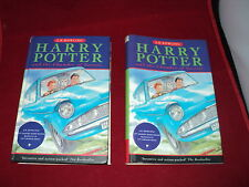 Harry Potter and the chamber of secrets by J. K. Rowling hardback 1st print run