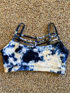BETSEY JOHNSON PERFORMANCE TYE DYE SPORT BRA SZ SMALL EUC