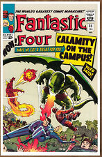 Fantastic Four #35  poster art print '92  Jack Kirby  Dragon