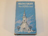 SILENT NIGHT THE STORY OF THE CHRISTMAS CAROL VHS HOLIDAY