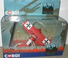 FOKKER DR1 German Flying Corps WORLD WAR 1 Corgi Centenary Collection 1/76 MIB