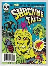 SHOCKING TALES DIGEST MAGAZINE 1 HARVEY MINI COMIC BOOK Horror 1981 Newsstand NM