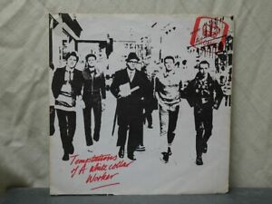 """The Drones:  Temptations Of A White Collar Worker  UK   1977  EX   7"""""""