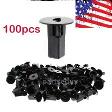 100 Pcs Car Fastener Clips Bumper Inner Fender Rivets Push 8x8.2mm For Toyota