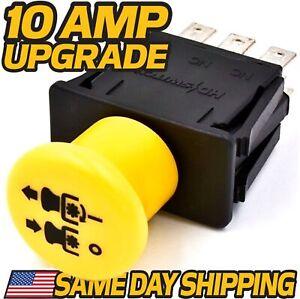 PTO Switch Replaces Exmark Toro - 103-5221, 633673, 1-633673 - 10 Amp Upgrade