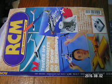 1?µ µ? Revue RCM n°215 plan encarté Ouragan / Twist Gee Bee RI Cap 231 Katana