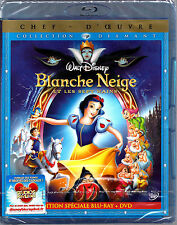BLANCHE NEIGE ET LES 7 NAINS - Collection DIAMANT Blu-ray + DVD - Neuf blister