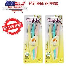 [B2G1 FREE] Dorco Tinkle Eyebrow Razor Trimmer Shaver 1 ORDER = 3pcs X 2 pack
